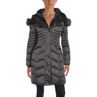 1 Madison Womens Parka Coat Winter Down