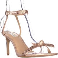 I35 Laniah Ankle Strap Evening Sandals, Light Rose