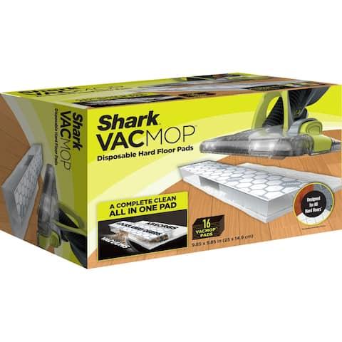 Shark VACMOP VMP16 Disposable Hard Floor Vacuum and Mop Pad Refills 16 CT - 16 Ct.