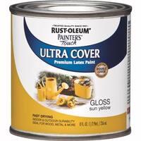 Rust-Oleum Sun Yellow Latex Paint 1945730 Unit: HPT