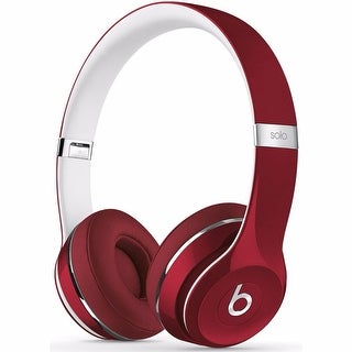 Beats By Dr. Dre Solo2 Red Luxe Edition On-Ear Headphones