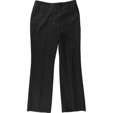 bar III Womens Solid Dress Pants, black, 10