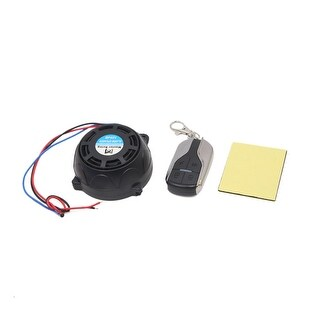 9-16V 315MHz Metal Motorcycle Remote Control Anti-theft Alarm Security System