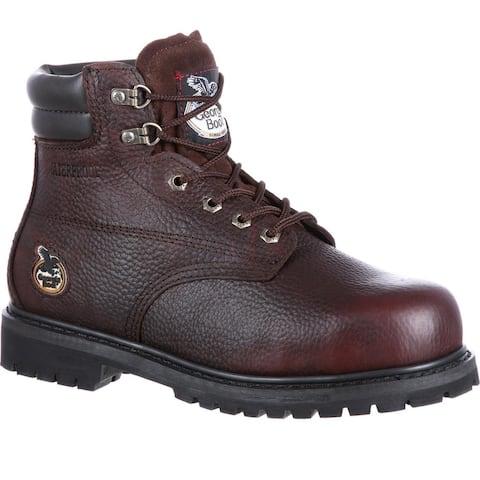 Georgia Boot Oiler Steel Toe Waterproof Work Boot, #G6174