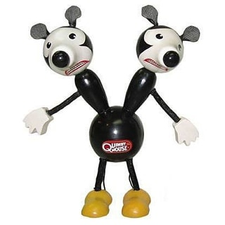 """Quimby The Mouse 6"""" Wooden Toy - multi"""