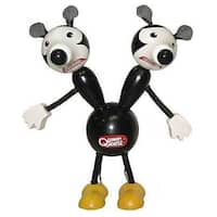 "Quimby The Mouse 6"" Wooden Toy - multi"