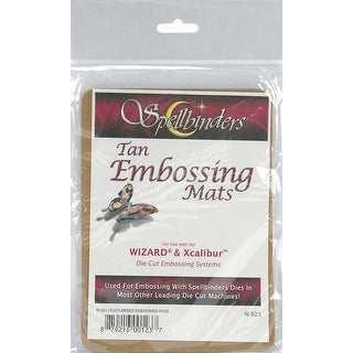 "Spellbinders Wizzard Enlarged Embossing Pads-5""X7"", 2/Pkg"