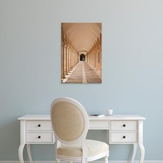 Easy Art Prints Walter Bibikow's 'Royal Palace Arched Walkway' Premium Canvas Art