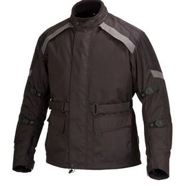 Men Motorcycle Cordura Race Classic Fit Jacket CE Protection Black MBJ058