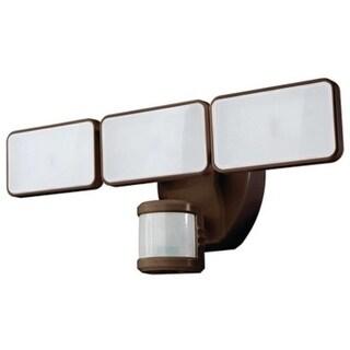Heathco HZ-5872-BZ Motion Activated Security Light, 240 deg Sensing, 2500 lumens, Bronze