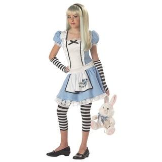 California Costume Girls Alice Tween - as shown - X-Large