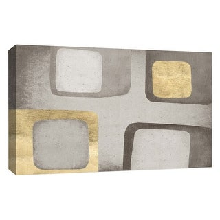 """PTM Images 9-126651  PTM Canvas Collection 10"""" x 8"""" - """"Cubic III"""" Giclee Patterns and Designs Art Print on Canvas"""