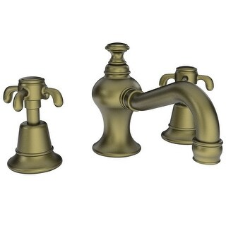 Newport Brass 1680 Virginia Double Handle Widespread Lavatory Faucet with Metal