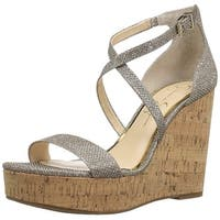 Jessica Simpson Womens Stassi Open Toe Special Occasion Ankle Strap Sandals