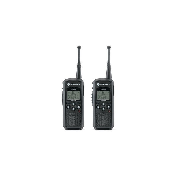 Motorola DTR550 Portable Digital Radio - (2 Pack)