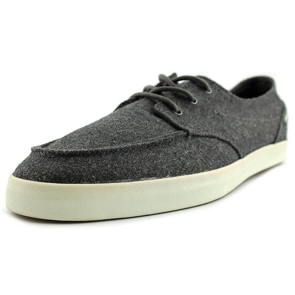 Reef Deckhand 2 TX Men Moc Toe Canvas Gray Loafer