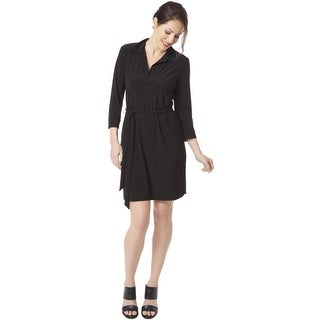 Tiana B. Womens Shirtdress 3/4 Sleeves Knee-Length