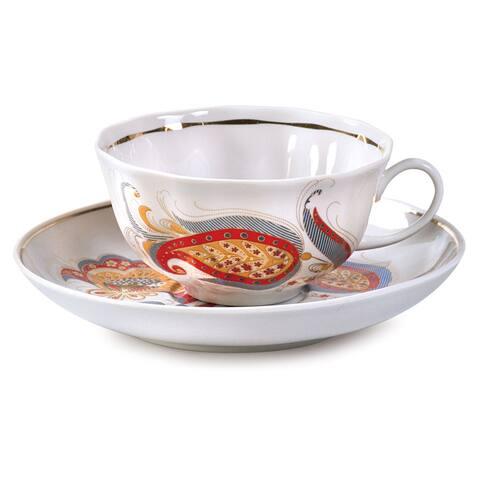 The Firebird Teacup and Saucer Set