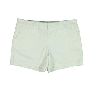 Tommy Hilfiger Womens Twill Flat Front Casual Shorts - 16