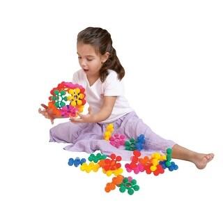 Childcraft Toddler Manipulatives Mini Interstar Rings, Assorted Colors, Set of 40