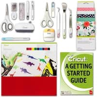 Cricut Maker Accessories Bundle Fabric Sampler Pen Felt Tools & Sewing Kit Guide