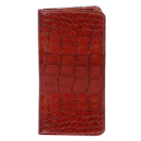 Scully Western Planner Exotic Print Leather Notebook - One Size