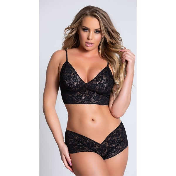 e5d61fc93c2 Shop Hoty Lace Cami And Boyshort Set - Free Shipping On Orders Over  45 -  Overstock - 20768016