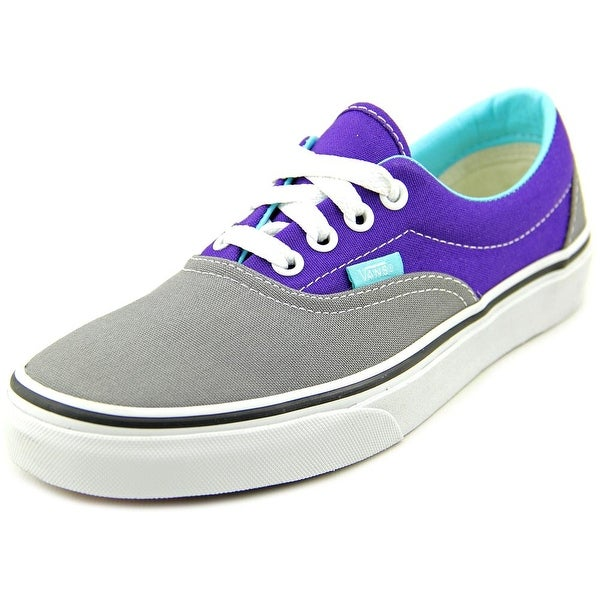Vans Era Women Round Toe Canvas Gray Skate Shoe