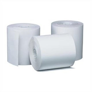 Adorable Supply B044150MSD 44 mm. x 150 Ft. 1 Ply White Bond Rolls
