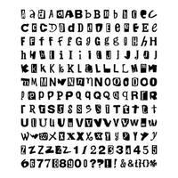 Hodge Podge Fonts  Slice Design Card Making Memories