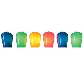 Celebrations 28092-71 Mini Vintage Christmas Incandescent Light Set, Multicolored, 24' L