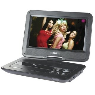 Naxa NAXNPD1003G NAXA 10 Inch TFT LCD Swivel-Screen Portable DVD Player