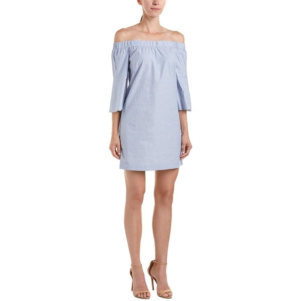a6826f047a Shop Kensie Oxford Off The Shoulder Dress Lapus Combo - Free Shipping On  Orders Over  45 - Overstock - 21838447