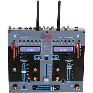 Qfx 2-channel Mx-3 Professional Mixer