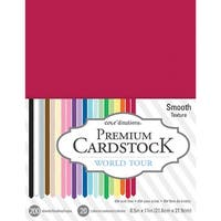 "Core'dinations Value Pack Smooth Cardstock 8.5""X11"" 200/Pkg-World Tour"