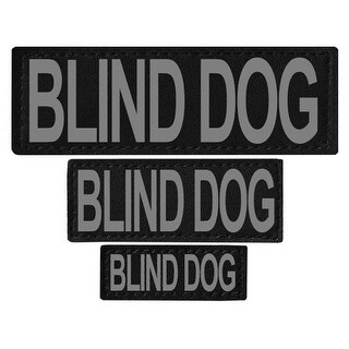 Blind Dog Removable Side Patches For Unimax & Alpha Harnesses - XS