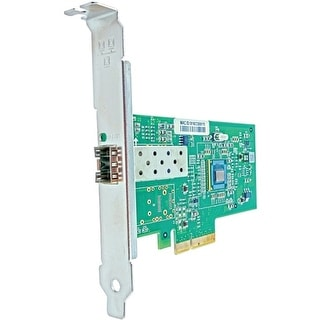 Axion 394793-B21-AX Axiom PCIe x4 1Gbs Single Port Fiber Network Adapter for HP - PCI Express 2.1 x4 - 1 Port(s) - Optical Fiber