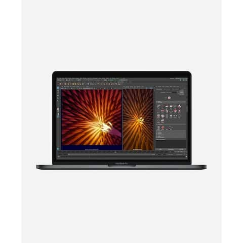 Macbook Pro 13.3-inch (Retina, Space Gray, Touch Bar) 3.5Ghz Dual Core i7 (Mid 2017) 128 GB Hard Drive 8 GB Memory - Space Gray