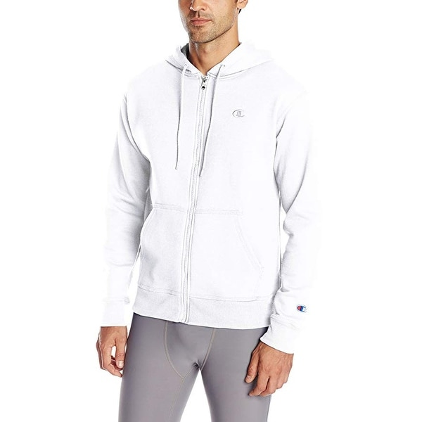 2ea82ef4 Shop Champion Men's Powerblend Full-Zip Hoodie - Free Shipping On Orders  Over $45 - Overstock - 24017816