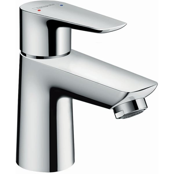 Hansgrohe 71702 Talis E 1.2 GPM Single Hole Bathroom Faucet with QuickClean, ComfortZone and EcoRight Technology - Chrome