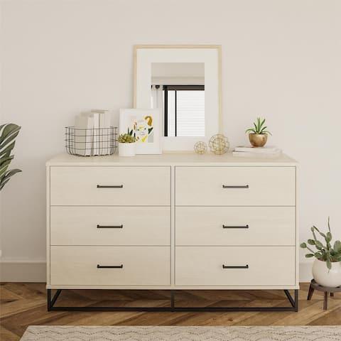 Novogratz Kelly 6 Drawer Dresser