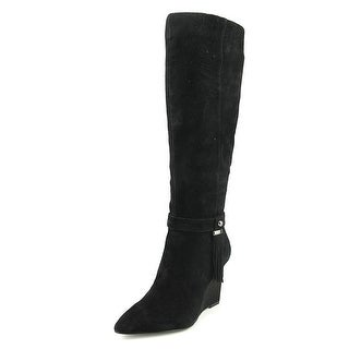Nine West Trybecca Pointed Toe Suede Knee High Boot
