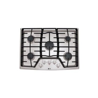 LG LCG3011 30 Inch Gas Cooktop with SuperBoil