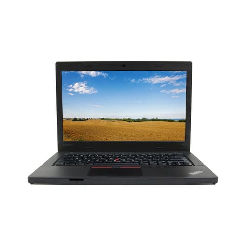 "Lenovo ThinkPad L460 Core i5-6300U 2.4GHz 8GB RAM 512GB SSD 14"" Windows 10 Pro Laptop (Refurbished)"