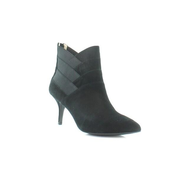 Adrienne Vittadini Sande Women's Boots Black Suede - 7.5