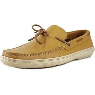 Vince Camuto Xandar Men Round Toe Leather Tan Loafer