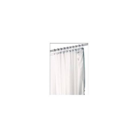 Zenith White Shower Curtain