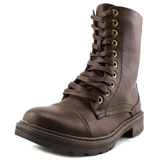Wanderlust Holly Women  Round Toe Synthetic Brown Boot