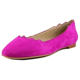 Sam Edelman Augusta Women  Round Toe Suede Pink Flats