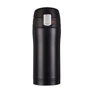Stainless Steel Vacuum Insulated Travel Mug, One-handed Open and Drink, 15 oz